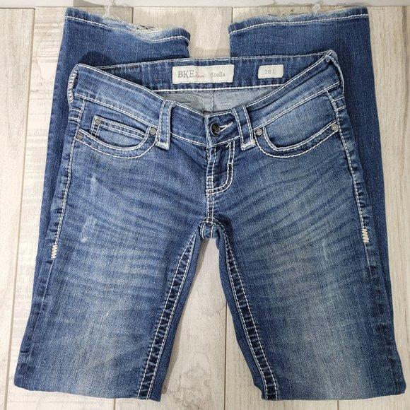 BKE Stella Jeans 26L 26x33.5